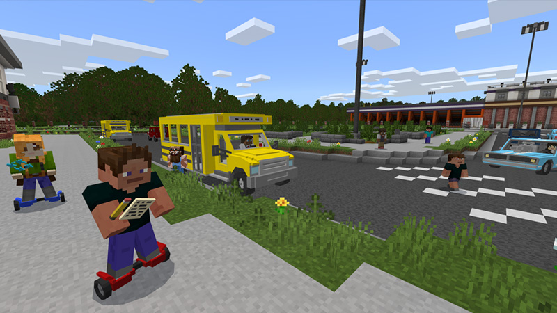 School - Roleplay on the Minecraft Marketplace by Aurrora