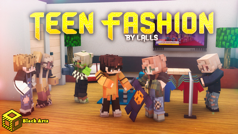 Teen Fashion on the Minecraft Marketplace by Black Arts Studio