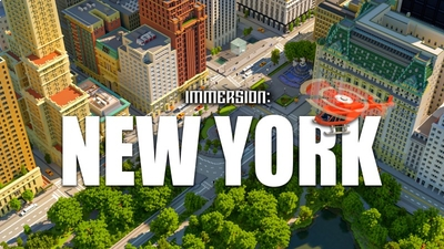 Immersion New York on the Minecraft Marketplace by Shapescape
