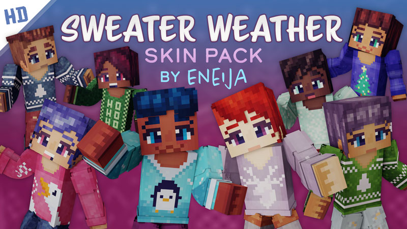 Sweater Weather HD Skin Pack on the Minecraft Marketplace by Eneija