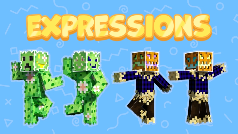 Expressions on the Minecraft Marketplace by Sapphire Studios