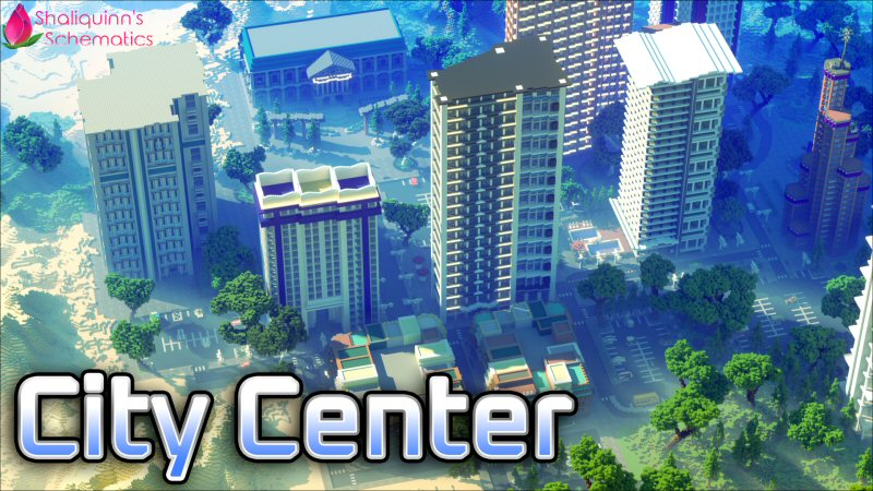 City Center on the Minecraft Marketplace by Shaliquinn's Schematics