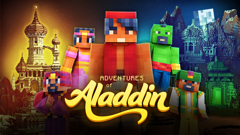 Adventures of Aladdin on the Minecraft Marketplace by InPvP