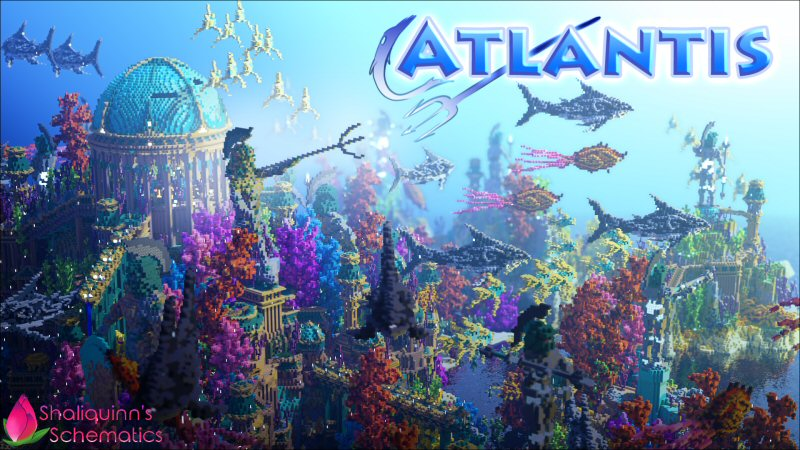 Atlantis on the Minecraft Marketplace by Shaliquinn's Schematics