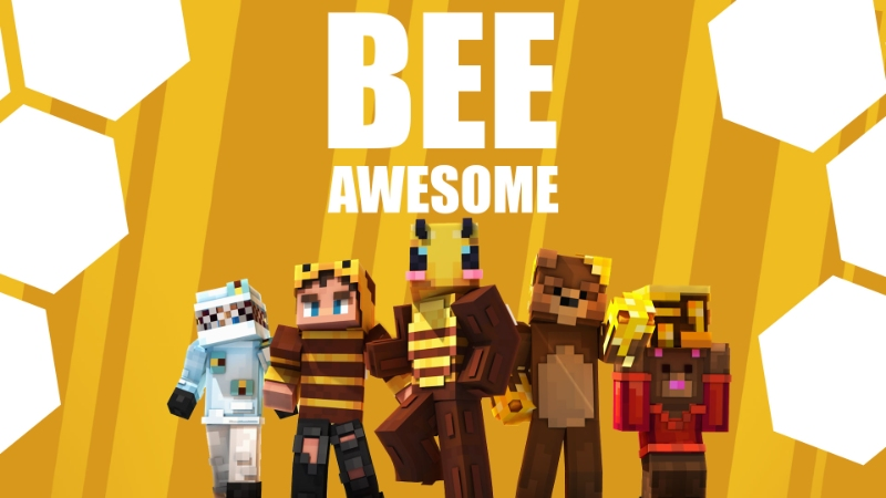 BEE Awesome on the Minecraft Marketplace by Sapphire Studios