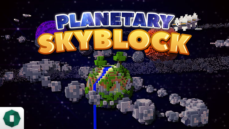 Planetary Skyblock on the Minecraft Marketplace by Octovon