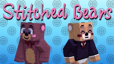 Stitched Bears on the Minecraft Marketplace by Pixels & Blocks