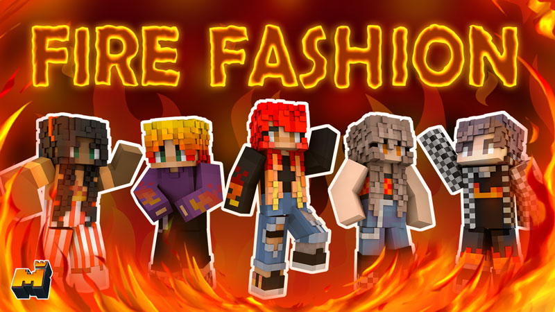 Fire Fashion on the Minecraft Marketplace by Mineplex