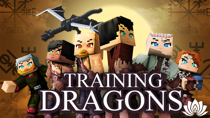 Training Dragons HD on the Minecraft Marketplace by IriumBT