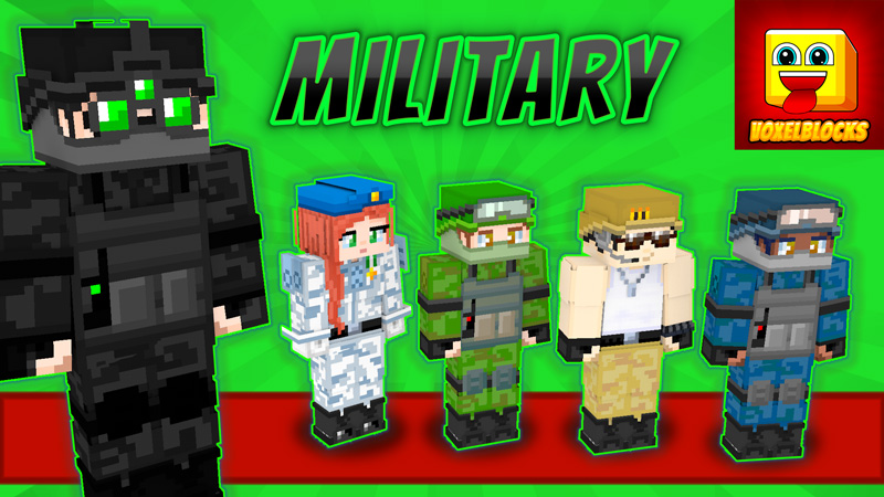 Military on the Minecraft Marketplace by VoxelBlocks