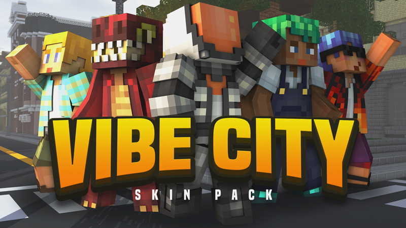 Vibe City Skin Pack on the Minecraft Marketplace by Blockception