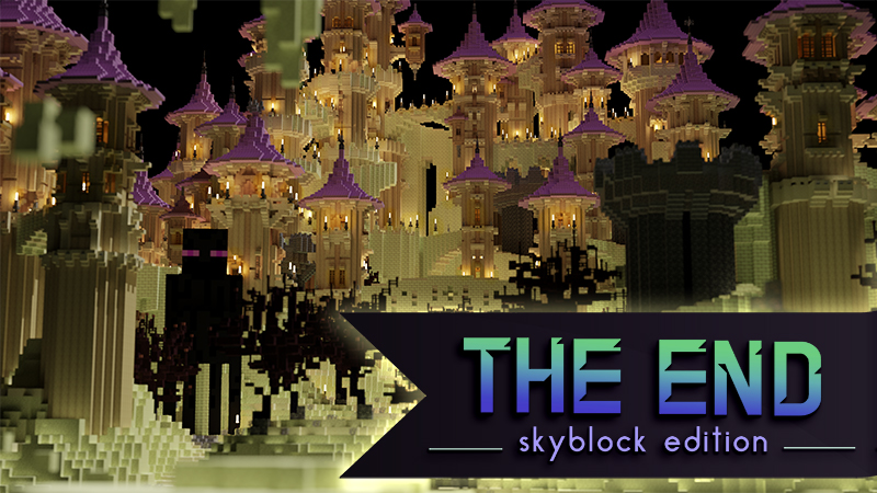 The End Skyblock Edition on the Minecraft Marketplace by Tetrascape