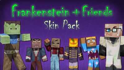 Frankenstein  Friends Skins on the Minecraft Marketplace by Lifeboat