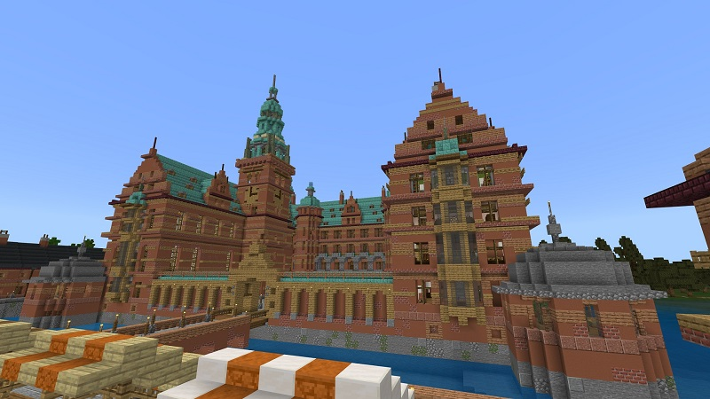 Royal Castle on the Minecraft Marketplace by Nitric Concepts