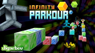 Infinity Parkour on the Minecraft Marketplace by Jigarbov Productions