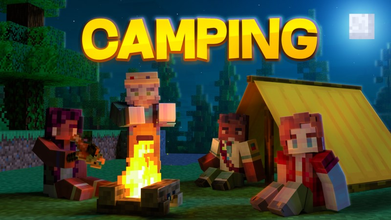 Camping on the Minecraft Marketplace by Shapescape