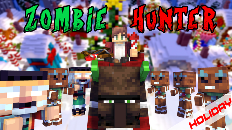 Zombie Hunter Holiday on the Minecraft Marketplace by Pixels & Blocks