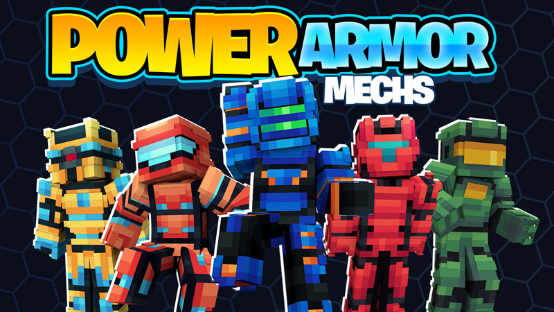 Power Armor Mechs on the Minecraft Marketplace by BBB Studios