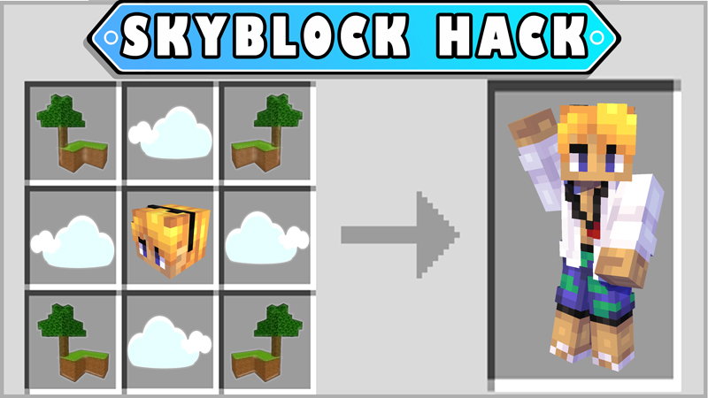 Skyblock Hack on the Minecraft Marketplace by Pixels & Blocks
