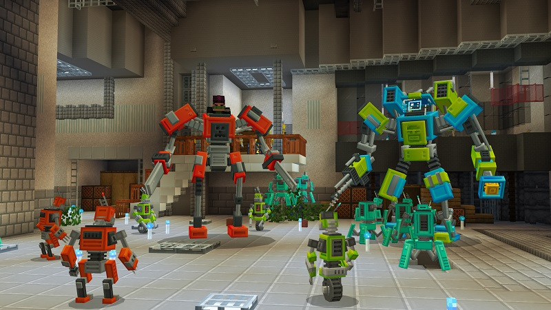 Mechs and Robots on the Minecraft Marketplace by BBB Studios