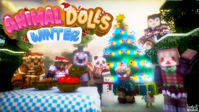 Animal Dolls Winter on the Minecraft Marketplace by LinsCraft
