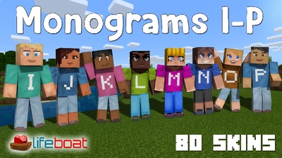 Monograms IP on the Minecraft Marketplace by Lifeboat
