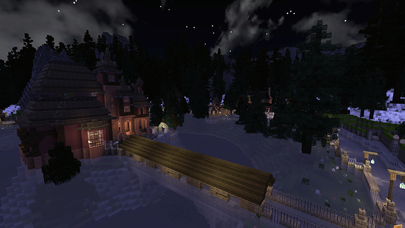 Shiver Mist Exiled on the Minecraft Marketplace by Monster Egg Studios