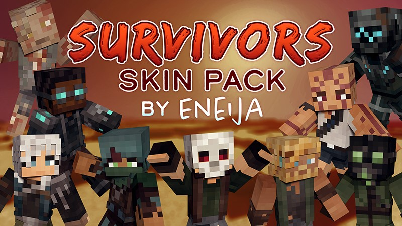 Survivors Skin Pack on the Minecraft Marketplace by Eneija