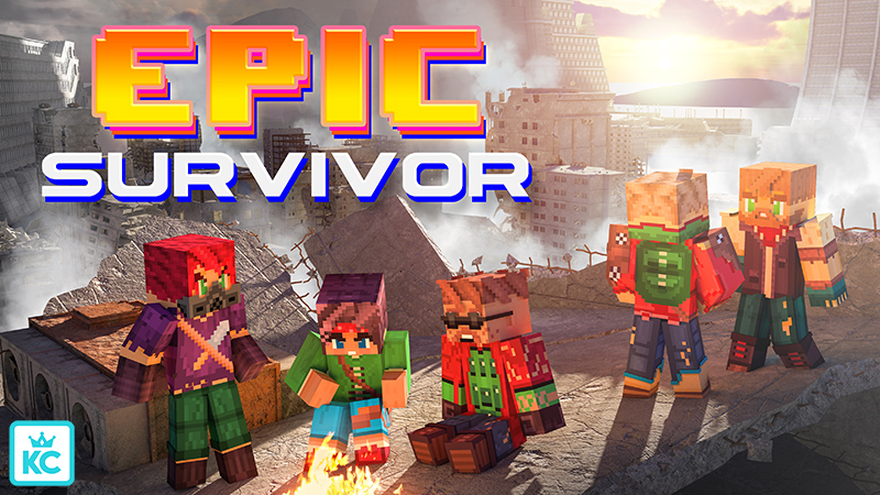 Epic Survivor HD on the Minecraft Marketplace by King Cube
