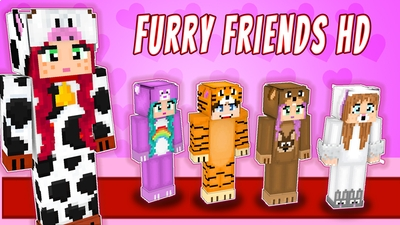 Furry Friends HD on the Minecraft Marketplace by VoxelBlocks