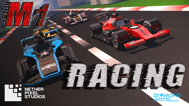 M1 Racing on the Minecraft Marketplace by Netherpixel