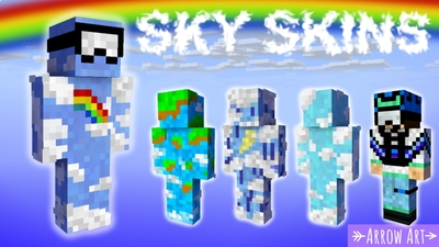 Sky Skins on the Minecraft Marketplace by Arrow Art Games