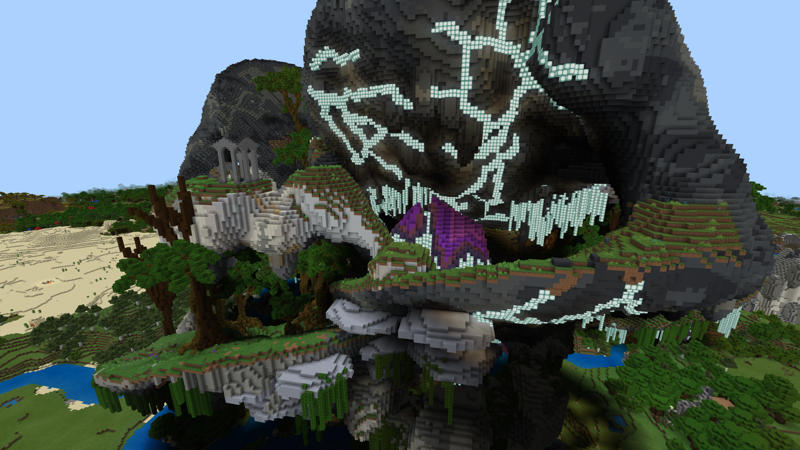 Strange Rock on the Minecraft Marketplace by Pixelusion