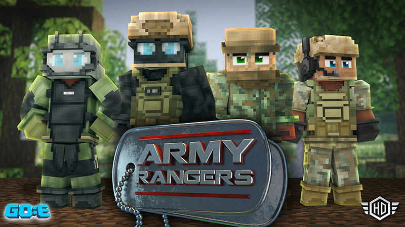 Army Rangers on the Minecraft Marketplace by GoE-Craft