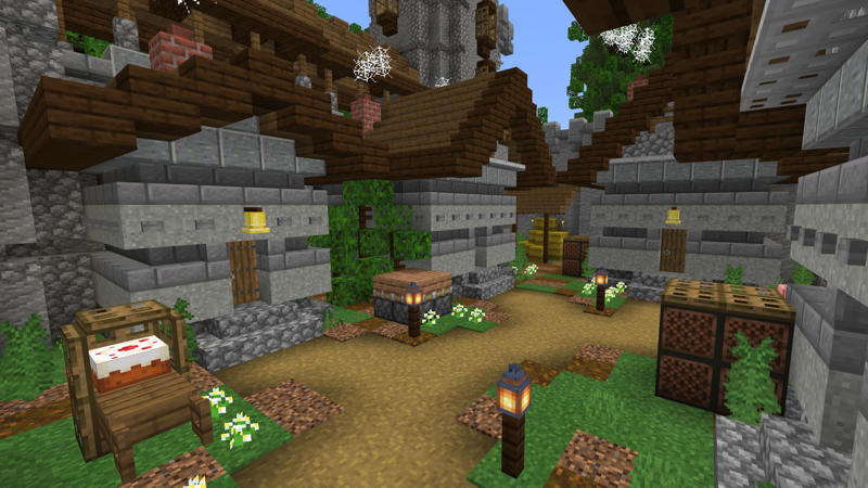 Medieval Skyblock on the Minecraft Marketplace by Pixelusion