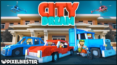 City Dream  Roleplay on the Minecraft Marketplace by Pixelbiester