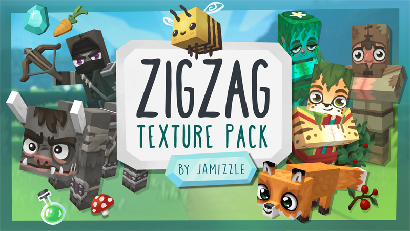 ZigZag on the Minecraft Marketplace by Jamizzle