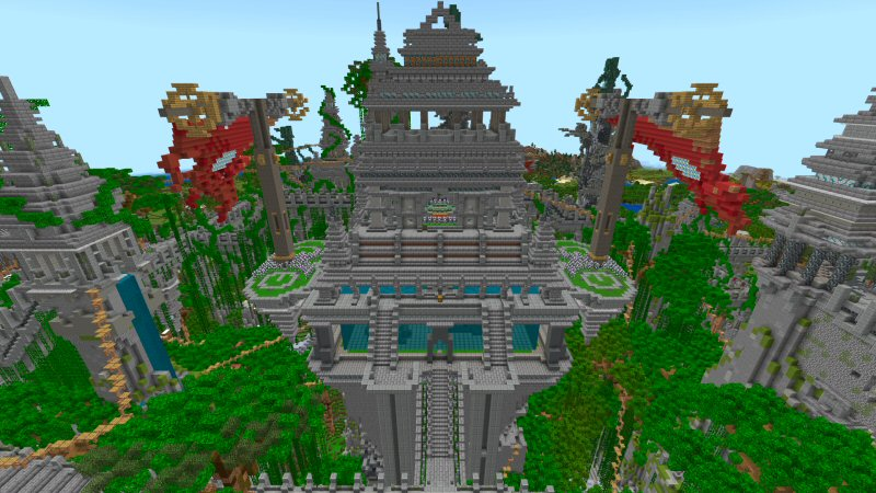 Jungle Temple by Shaliquinn's Schematics