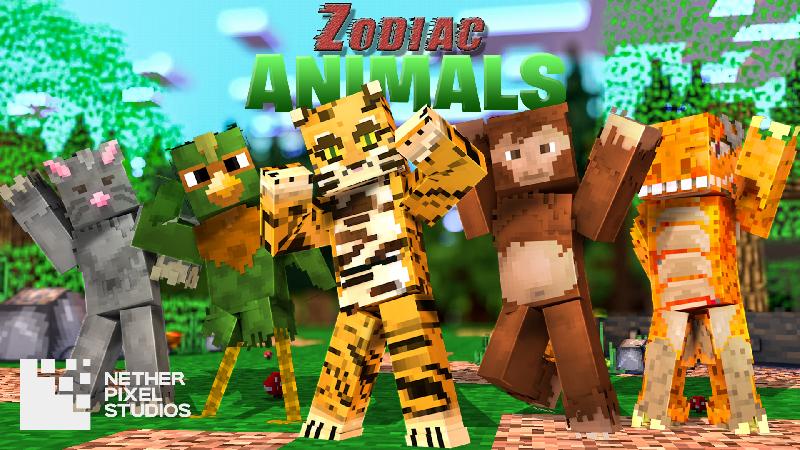 Zodiac Animals on the Minecraft Marketplace by Netherpixel