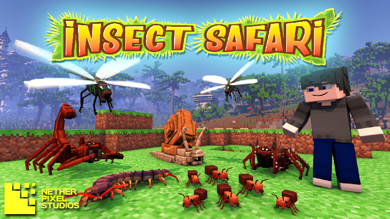 Insect Safari on the Minecraft Marketplace by Netherpixel