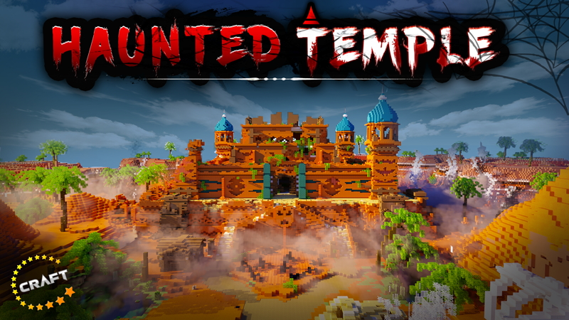Haunted Temple on the Minecraft Marketplace by The Craft Stars