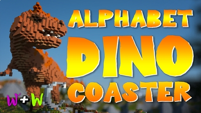 Alphabet DinoCoaster on the Minecraft Marketplace by The Wizard and Wyld
