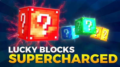 Lucky Blocks Supercharged on the Minecraft Marketplace by Podcrash