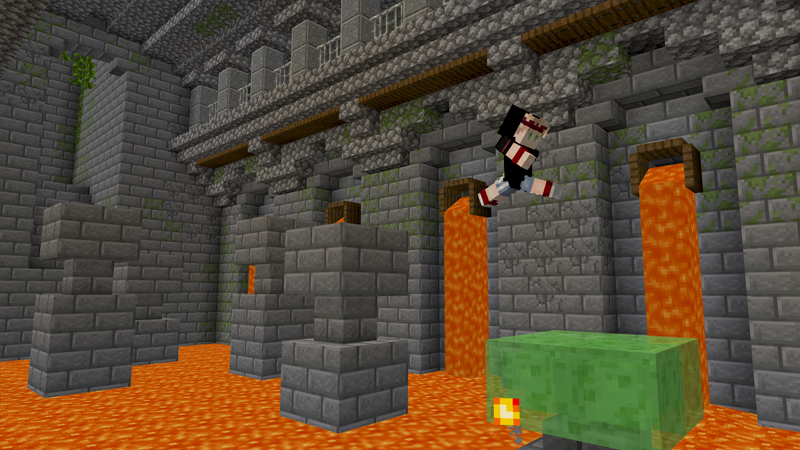 Dungeon Parkour on the Minecraft Marketplace by BBB Studios