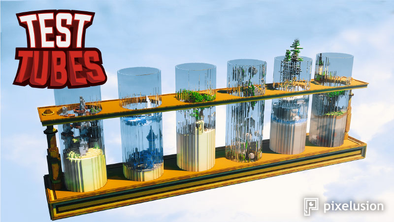 Test Tubes on the Minecraft Marketplace by Pixelusion