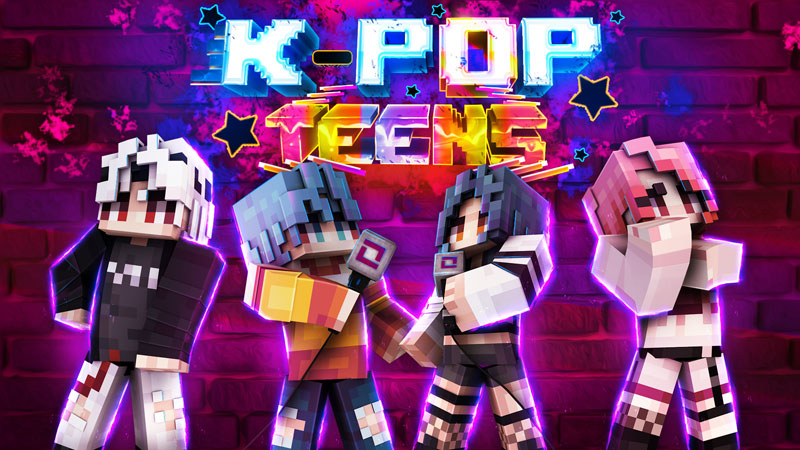 KPop Teens on the Minecraft Marketplace by BBB Studios