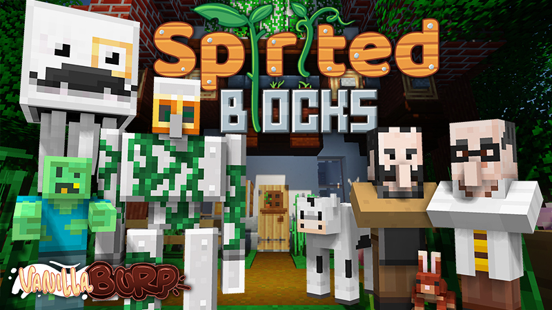 Spirited Blocks Texture Pack
