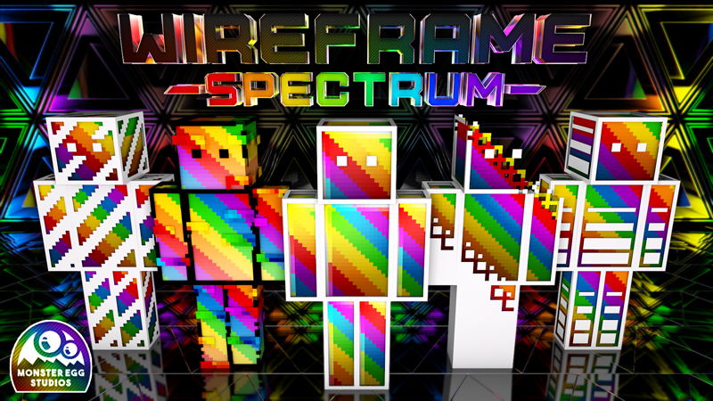 Wireframe Spectrum HD on the Minecraft Marketplace by Monster Egg Studios