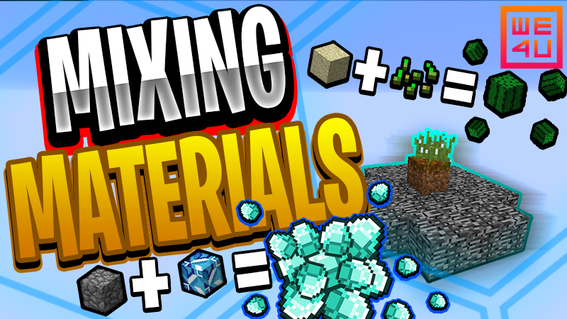 Mixing Materials on the Minecraft Marketplace by We4u