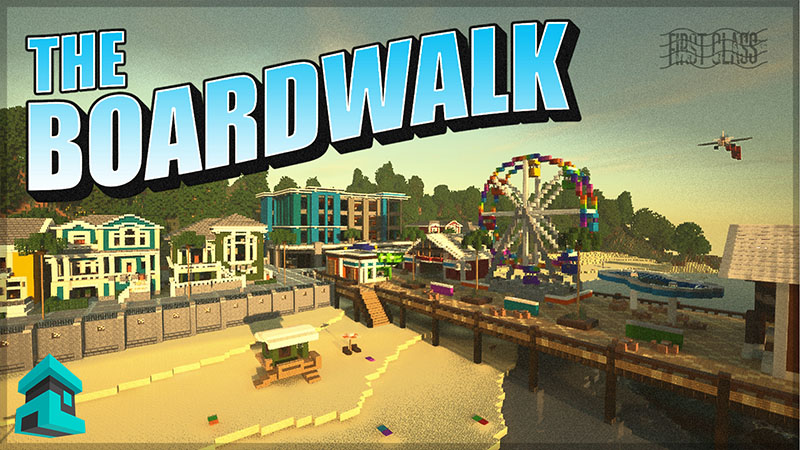 The Boardwalk on the Minecraft Marketplace by Project Moonboot